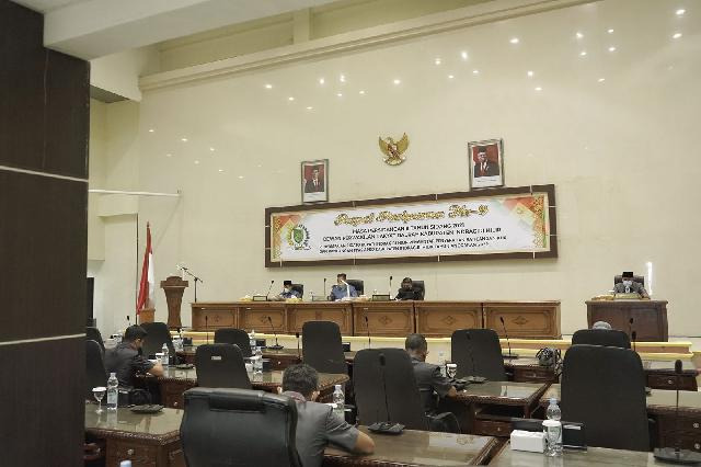 DPRD Inhil Gelar Rapat Paripurna ke-9 Masa persidangan II Tahun 2021
