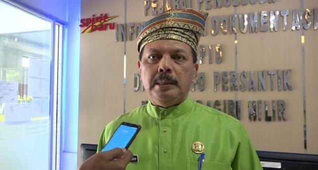 Sekda Inhil H. Syarifuddin Ikuti Vicon Pemilu 2019