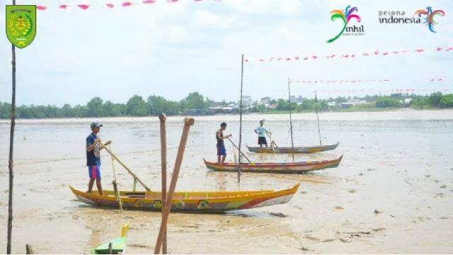 Nikmati Destinasi Wisata Tahunan di Inhil dengan Pacu Sampan Leper